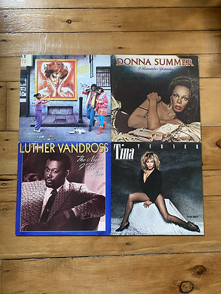 Pack of 4 R&B Vinyls