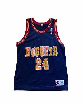 Vintage Nuggets Antonio McDyess Champion Jersey