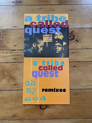 Pair of 2 A Tribe Called Quest 'oh my god' Vinyl Single Plus Remix
