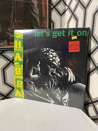 Vintage Shabba Ranks 'Let's Get it On' Single Vinyl