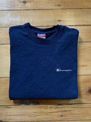 Vintage Champion Embroidered Logo T-Shirt