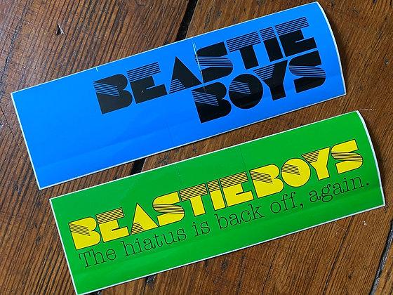 Lot of 2 Summer 2004 Beastie Boys Sticker