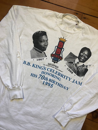 Vintage 1995 B.B. King 70th Birthday Celebration T-Shirt