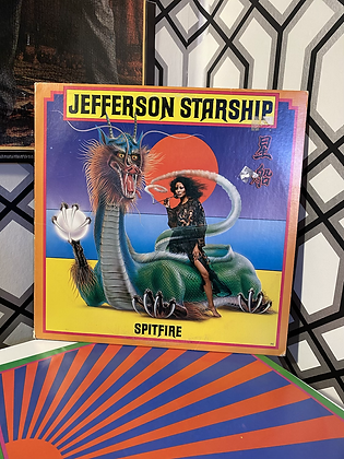 "Vintage Jefferson Starship ""Spitfire"" Vinyl Album"