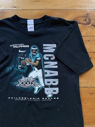 2004 Eagles Super Bowl McNabb T-Shirt