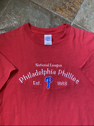 Vintage Embroidered Phillies T-Shirt