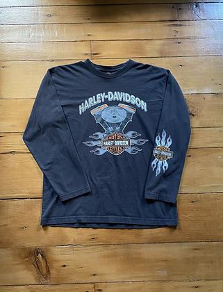 Vintage Harley Davidson Long Sleeve T-Shirt