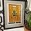 Thumbnail: Vintage 1986 Keith Haring x Absolute Vodka Framed Print Ad