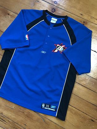 Reebok 76ers Warmup Shirt