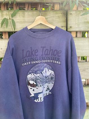 Vintage 90's Lake Tahoe Crewneck Sweatshirt