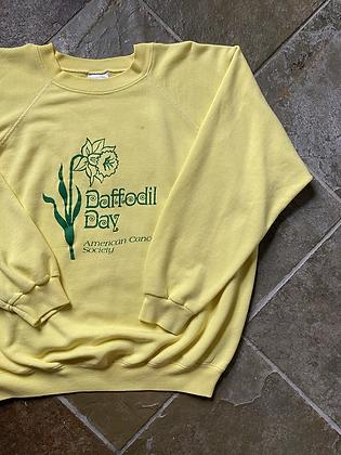 Vintage Daffodil Day Crewneck Sweatshirt