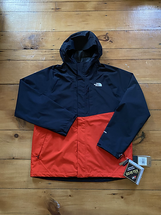 New The North Face Mountain Gore-Tex Light Triclimate Jacket Fiery Red