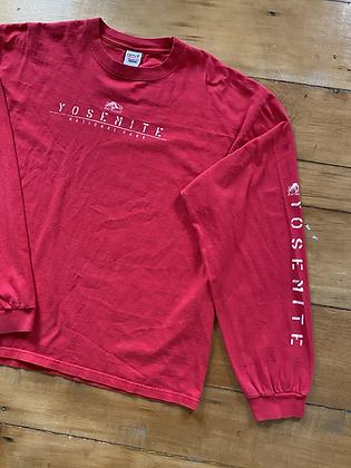 Vintage Yosemite Long Sleeve T-Shirt