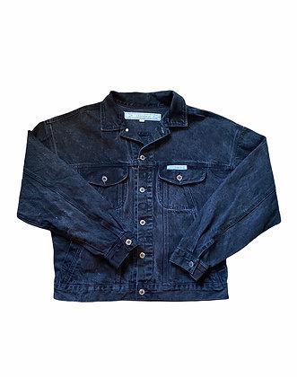 Vintage Z. Cavaricci Black Denim Jacket