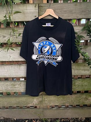 Vintage 1991 Tampa Bay Lightning T-Shirt