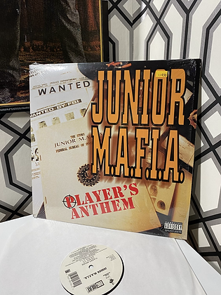 Vintage Junior M.A.F.I.A. 'Player's Anthem' Single Vinyl