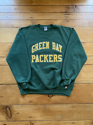 Vintage Russell Athletic Green Bay Packers Crewneck Sweatshirt