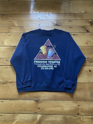 Vintage Freedom Theatre Philadelphia Crewneck