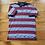 Thumbnail: Vintage Slazenger 1997 Ryder Cup Striped Short Sleeve Golf Polo