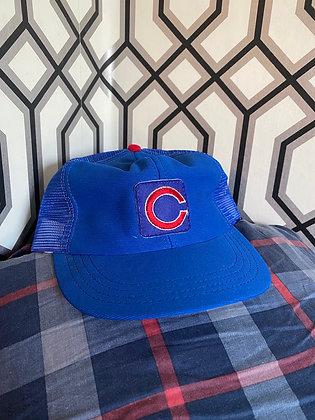 Vintage Cubs Mesh Trucker Hat