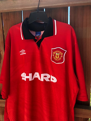 Vintage Umbro Manchester United Jersey