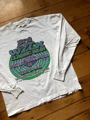 Vintage 1995 Peter Frampton and The Band Long Sleeve T-Shirt