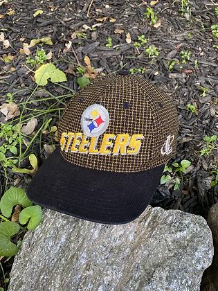 Vintage Logo Athletic Pro Line Steelers Strapback
