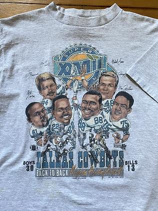 Vintage 1994 Cowboys Championship T-Shirt