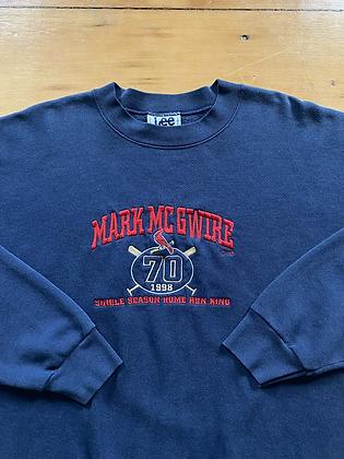 Vintage Mark McGwire Home Run King Crewneck