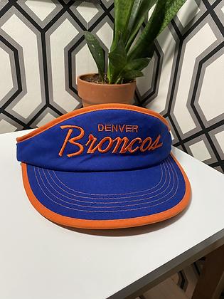 Vintage Sports Specialties Denver Broncos Script Visor