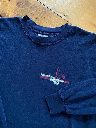 Vintage 99 Philadelphia Marathon Long Sleeve T-Shirt