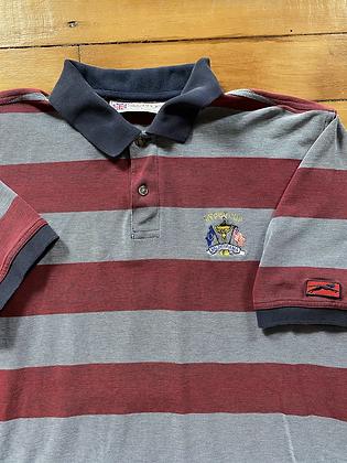 Vintage Slazenger 1997 Ryder Cup Striped Short Sleeve Golf Polo