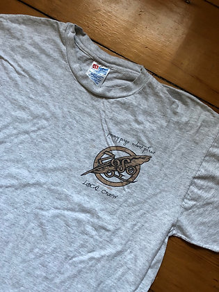 Vintage 1995 Jimmy Page and Robert Plant Local Crew T-Shirt