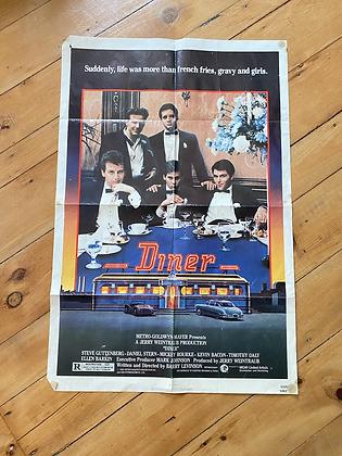Vintage 1982 Diner Movie Poster