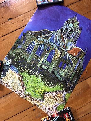 Vintage 1997 Van Gogh Poster