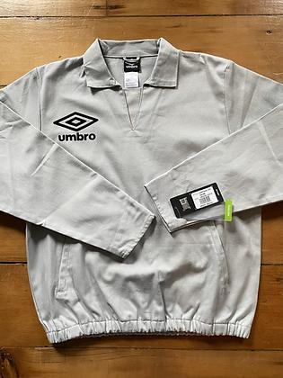 New Umbro Long Sleeve Drill Sweatshirt