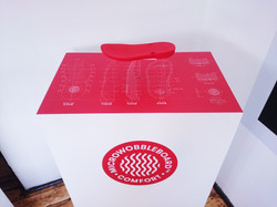 Product display stand - London