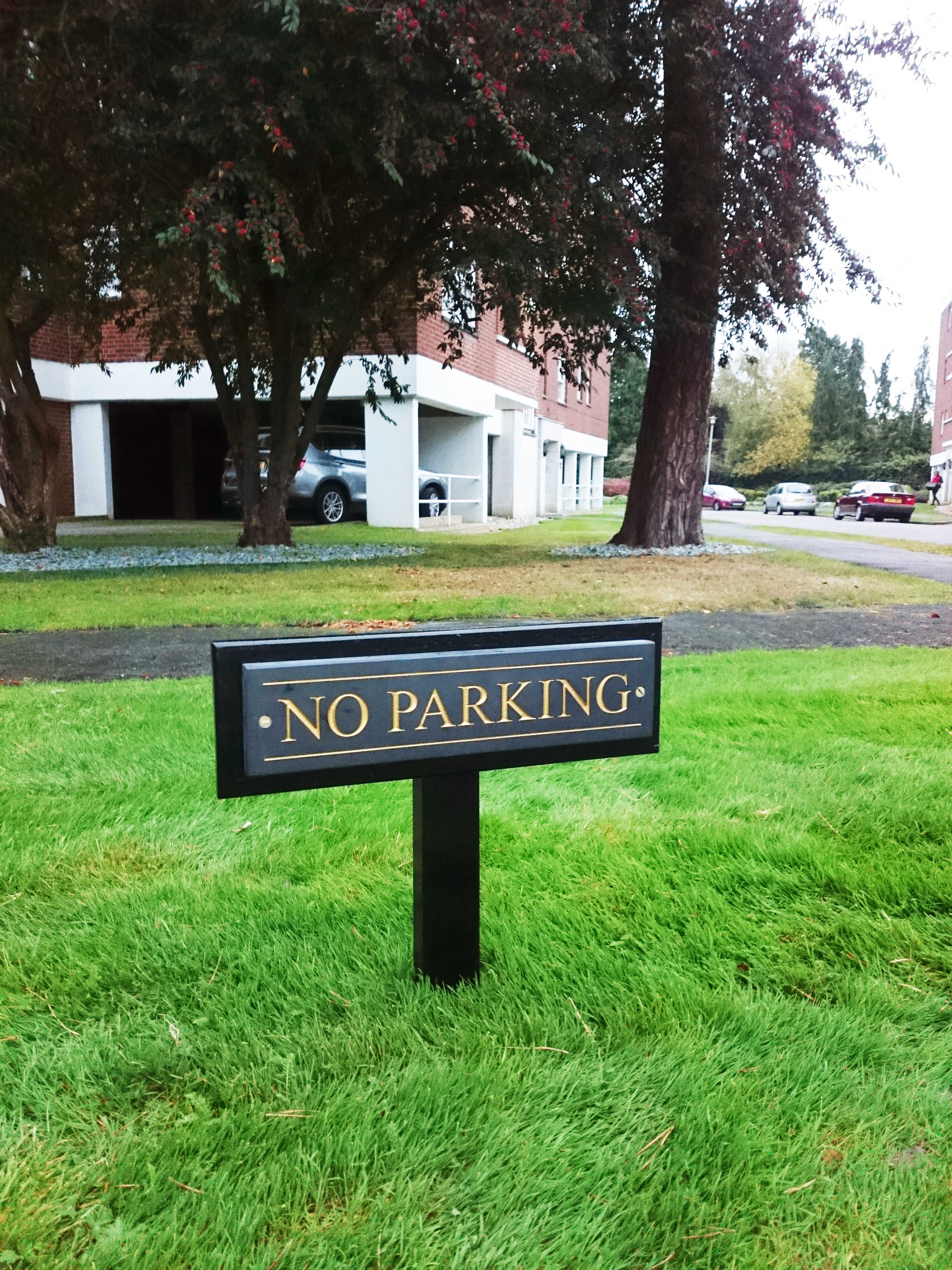 No parking sign - Stanmore