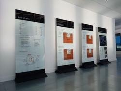 Glass graphic display panels