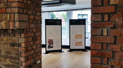 Commercial marketing display boards