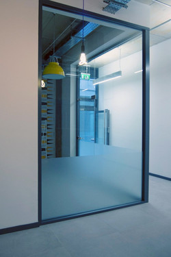 Office partition frosting - London