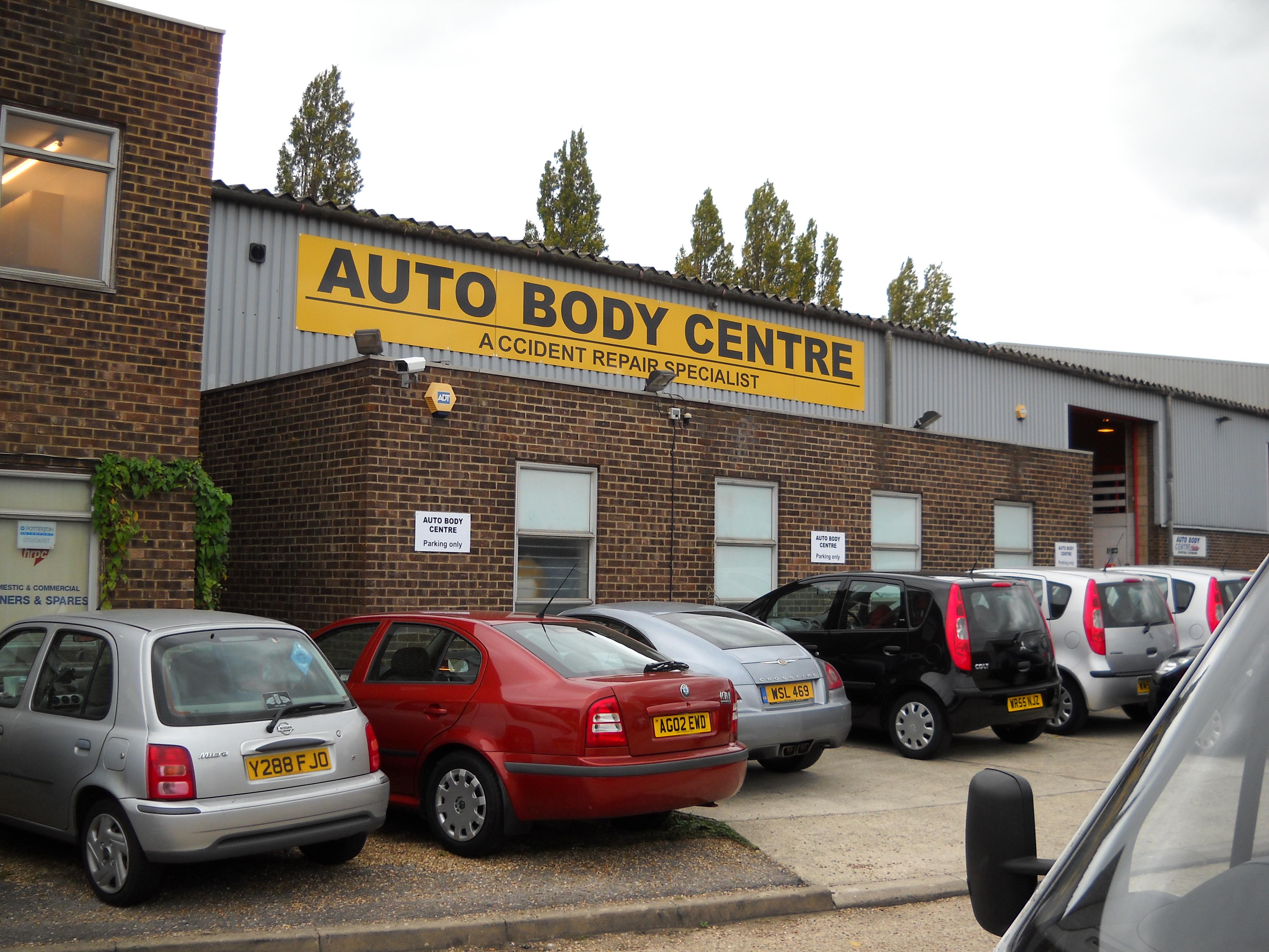 Large building sign - Brentford