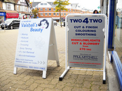 Pavement signs - Pinner