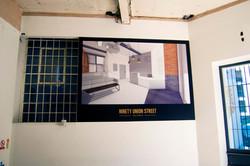 CGI wall graphic - London