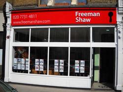 Estate agents sign - Fulham