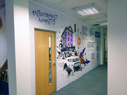 Office fit out graphics - Coventry