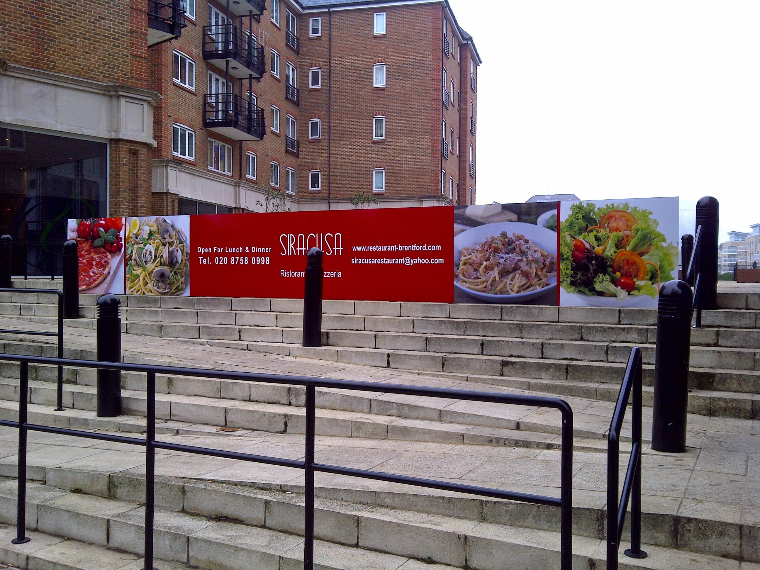 Restaurant sign - Brentford