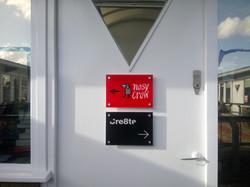 Door signs - London