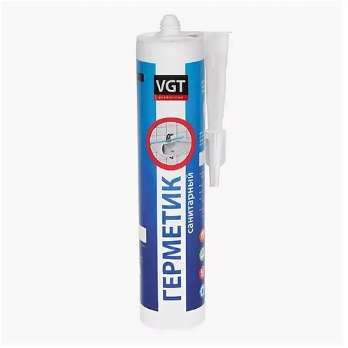 Герметик VGT  акриловый санитарный белый