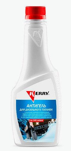 Антигель дизельного топлива KERRY суперконцентрат на 140 л,KR-356, 11605579